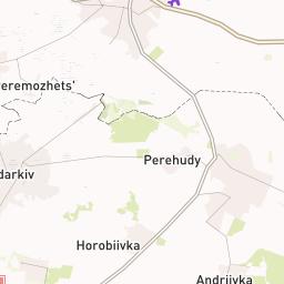 Карта Броварского Района+Спутник
